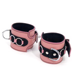 Pretty in pink wrist cuffs reviews