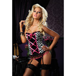 Zebra bustier set reviews