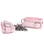 Pink plush ankle cuffs reviews