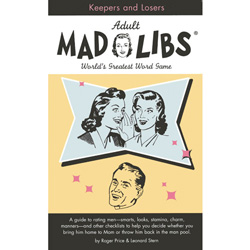 Adult Mad Libs Keepers and Losers - Book