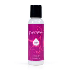 Please cream lubricant - water based lube