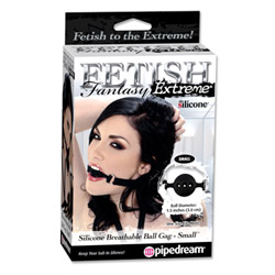 Mouth gag - Fetish Fantasy Extreme silicone breathable ball gag - view #2
