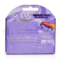 Finger massager - Trojan her pleasure vibrating touch - view #6