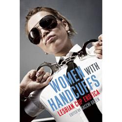 Women with handcuffs - Book