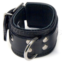 Wrist cuffs - Black jaguar cuffs - view #3