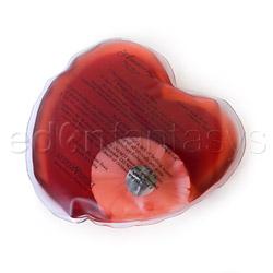 Warming massager - Hot heart massager I love you - view #2