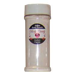 Edible body powder - edible powder