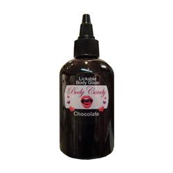 Lickable body glaze - edible gel
