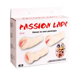 Realistic vagina - Passion lady set of three - view #7