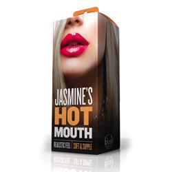 Mouth masturbator - Jasmine's hot mouth - view #2