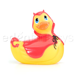 Red devil duckie - discreet vibrator