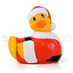 Discreet massager - Holiday ball santa duckie - view #2
