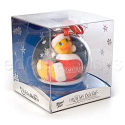 Discreet massager - Holiday ball santa duckie - view #6
