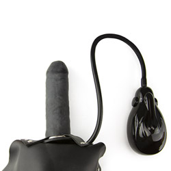 Harness and dildo set - Inflatable dildo with harness - view #5