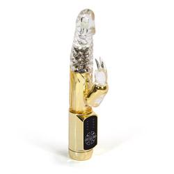 Rabbit vibrator with rotating beads - Eden mini rabbit - view #3