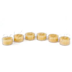 Beeswax tea lights - Candle
