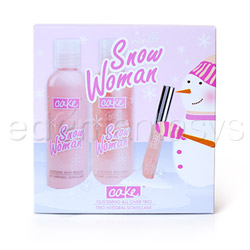 Bath and shower gel - Vanilla snow woman glistening trio - view #3