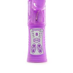 G-spot rabbit vibrator - Donatella jelly G - view #4