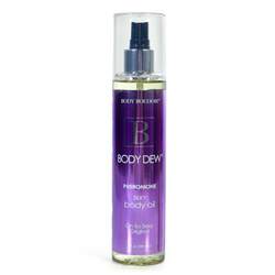 Body dew silky body oil - body moisturizer