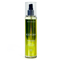 Body dew silky body oil