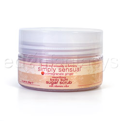 Simply sensual body scrub