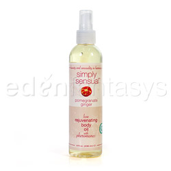 Simply sensual body oil - body moisturizer