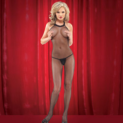 Bodystocking - crotchless bodystocking