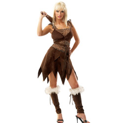 Cave girl - costume