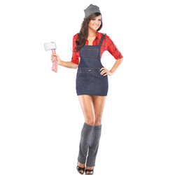 Sexy lumberjack - costume