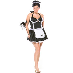 Retro french maid - costume