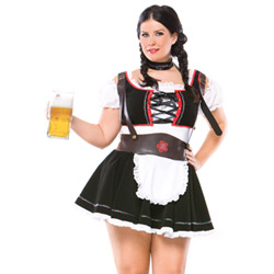 Beer maiden - sexy costume