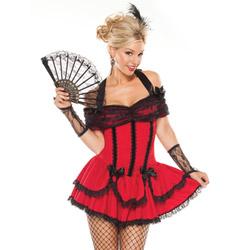 Saloon girl - costume
