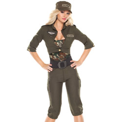 Army girl - costume