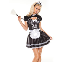 Flirty french maid - sexy costume