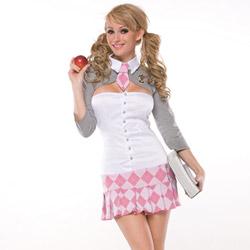 Prep school girl