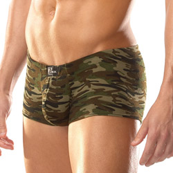 Camo boxer brief - shorts