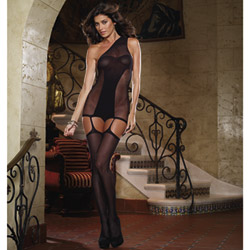 Sheer opaque bodysuit - bodystockings