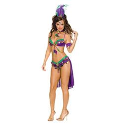 Mardi gras queen - costume