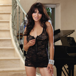 Chemise and thong - chemise and panty set