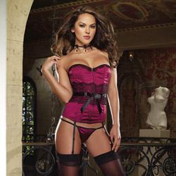 Elegant interlude corset