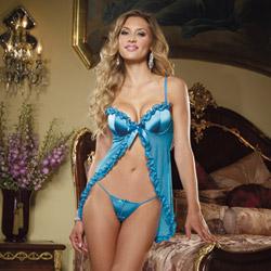 Bedroom flirtation babydoll - babydoll and panty set