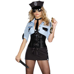 Officer B. Naughty - costume