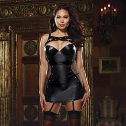 Naughty by nature garter slip - chemise