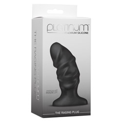 Butt plug - Platinum raging plug - view #2