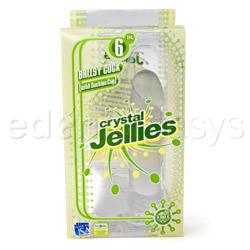Realistic dildo  - Crystal jellies ballsy cock - view #5