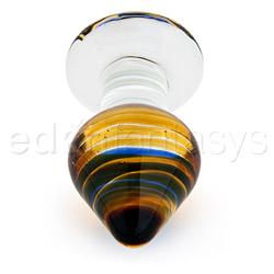 Glass plug  - Sexy spades medium - view #2