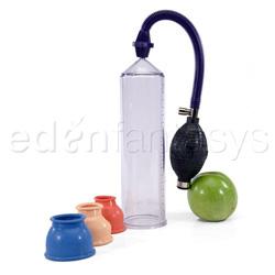 Measure up pump - penis pump