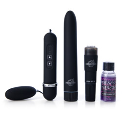 Black magic pleasure kit - vibrator kit for couples