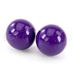Ben-wa balls - exerciser for vaginal muscles