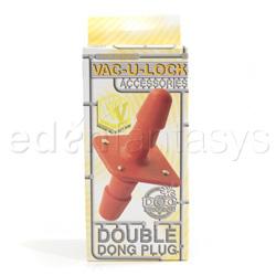 Plug - Double dong plug - view #3